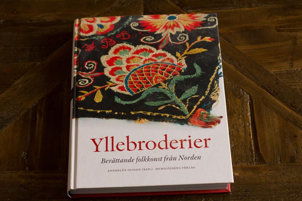 broderie de laine couverture du livre