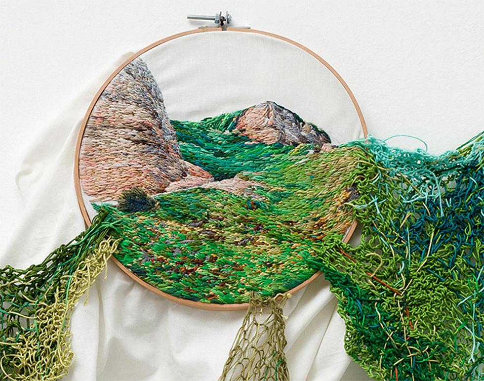 Les paysages brodés d'Ana Teresa Barboza