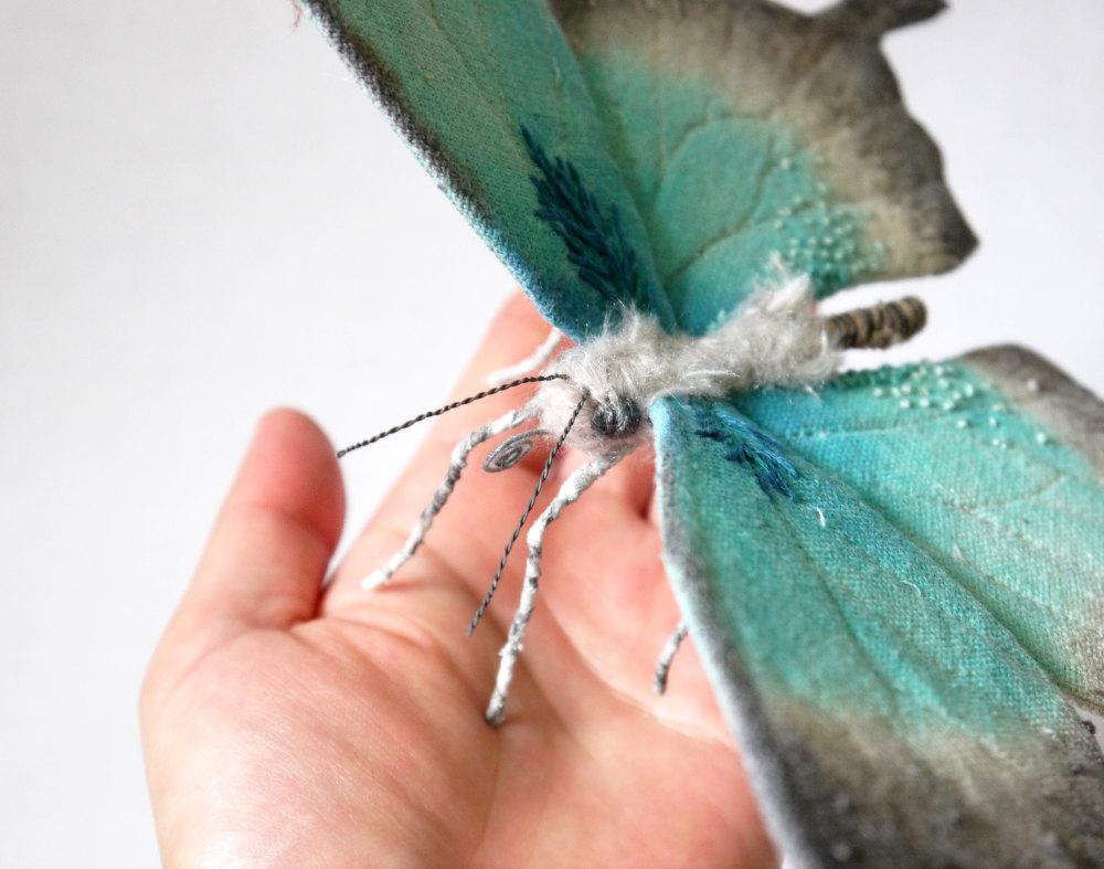 Papillon vert Yumi Okita
