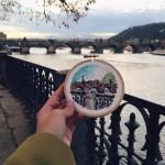 Prague brodé