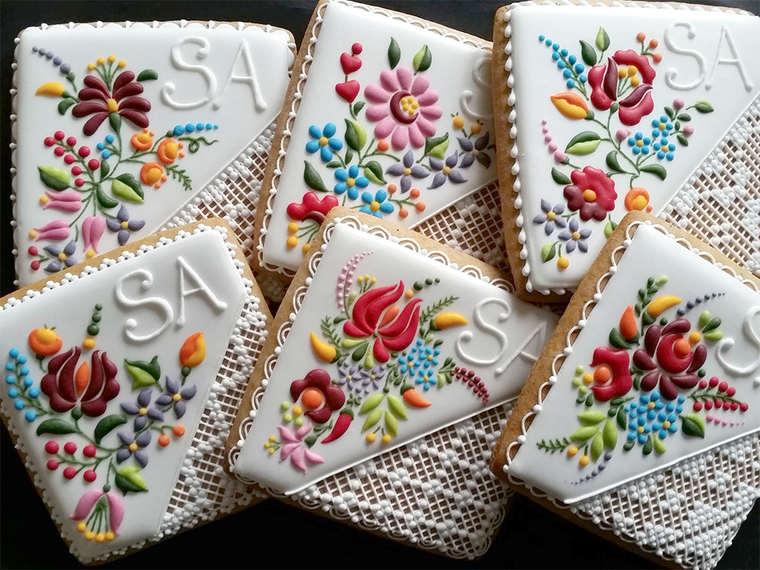 gâteau broderie hongroise matyo