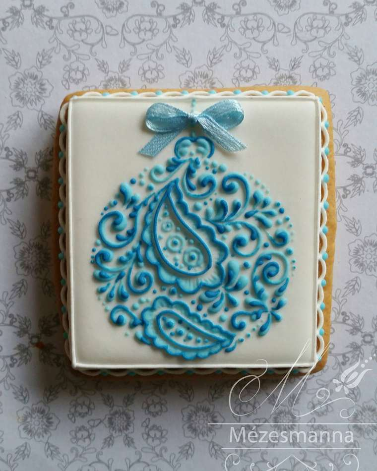 Mezesmanna, gâteau inspirés de la broderie