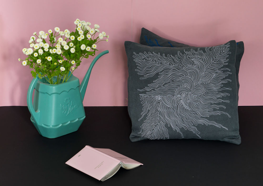 housse coussin ablaye mar broderie